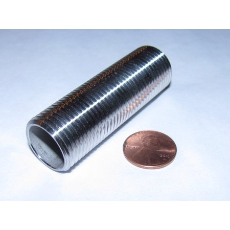 """STAINLESS STEEL THREADED STEM 2.5"""" X 1/2 INCH NPT 304 SS NIPPLE COUPLER FOR HOME BREWING COOLER BULKHEAD OR MASH TUN, 1/2"""" NATIONAL PIPE THREAD.., By by Hobby Homebrew Ship from US"""