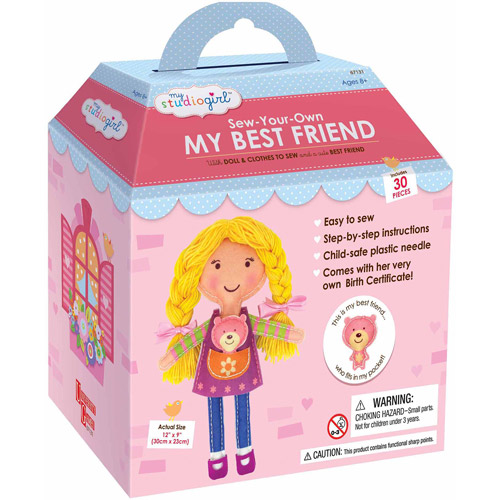 My Studio Girl Sew-Your-Own My Best Friend, Blonde