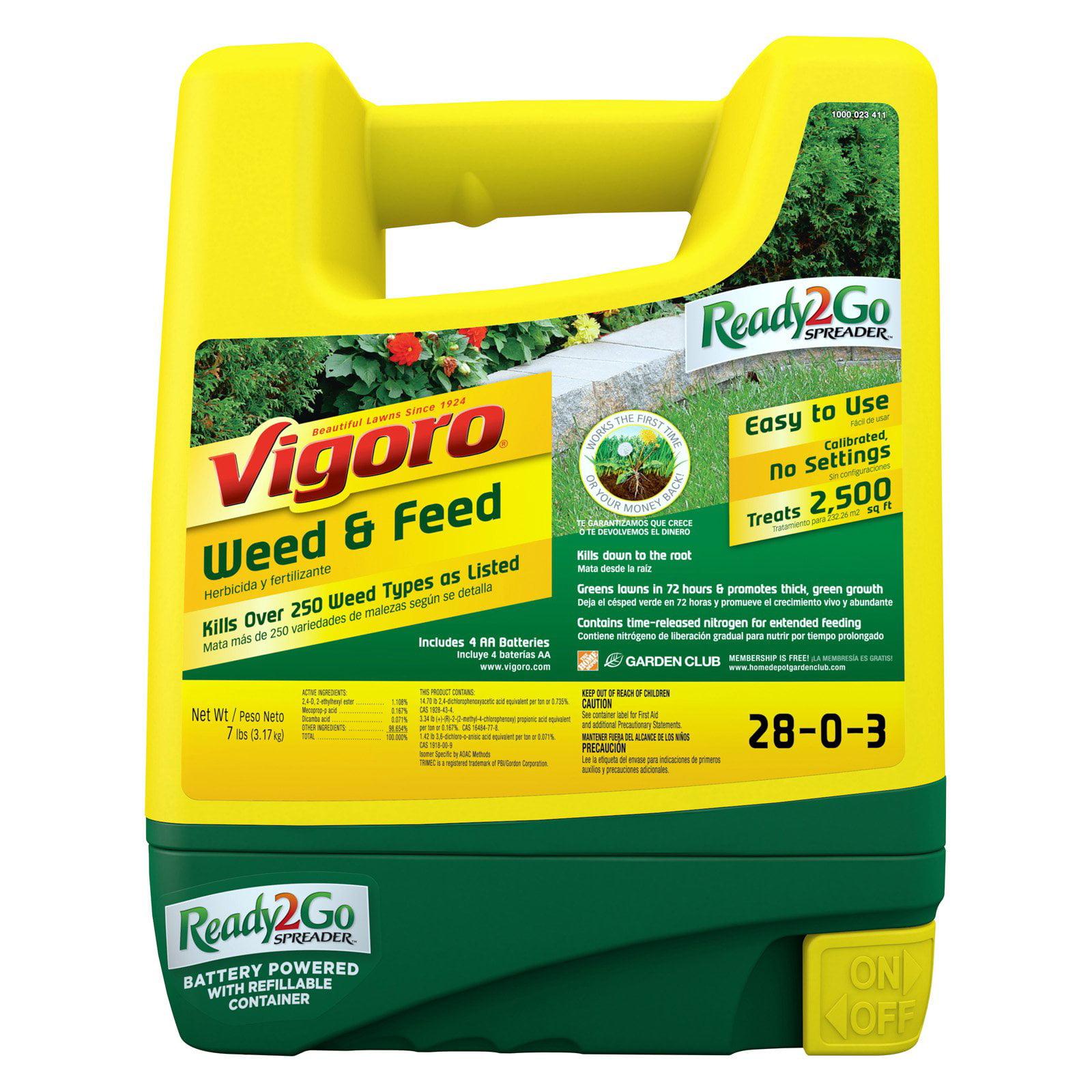 Vigoro Ready-2-Go Weed and Feed Spreader - Walmart.com
