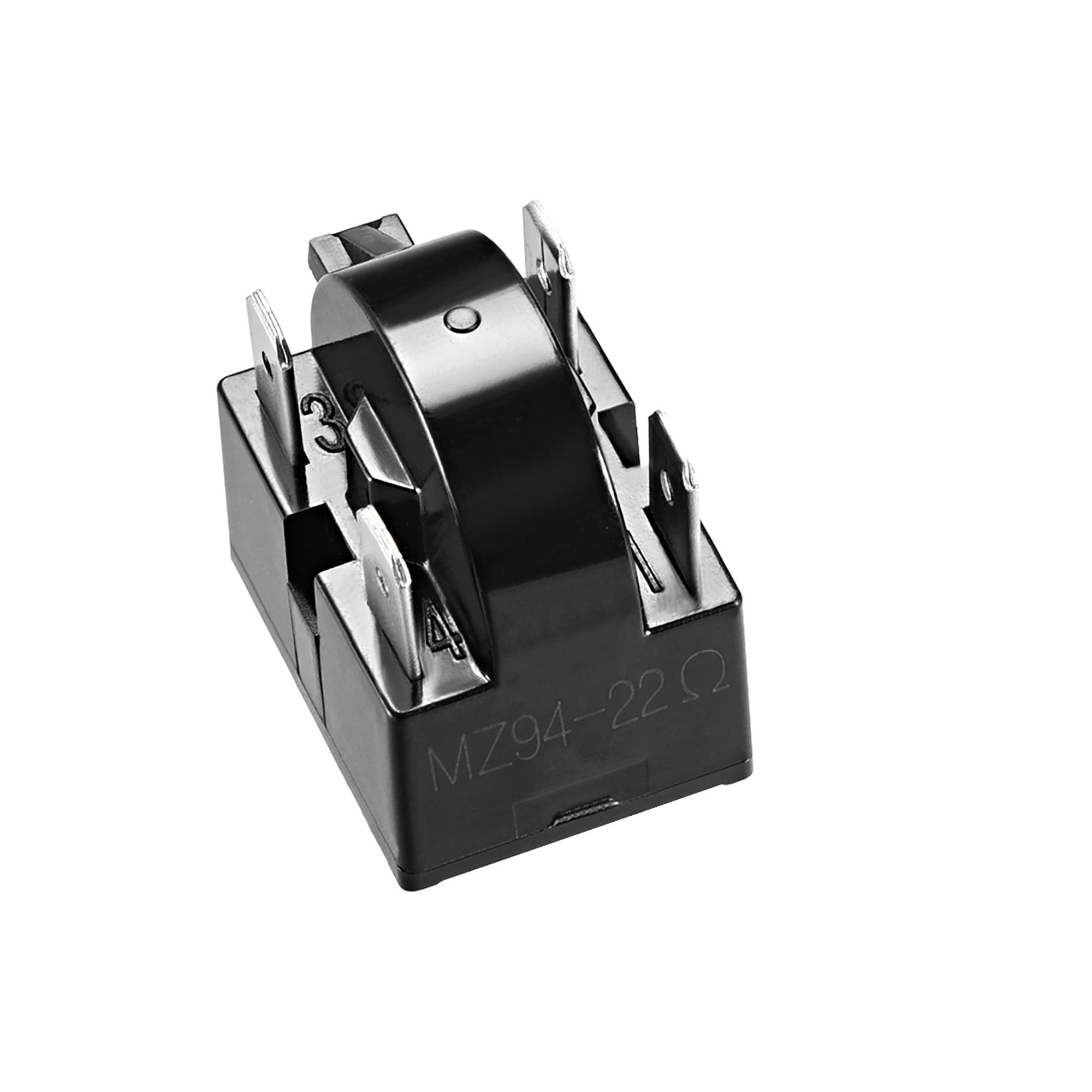 2 Pcs 22 Ohm 4 Pin Refrigerator PTC Starter Relay Black - image 2 of 4