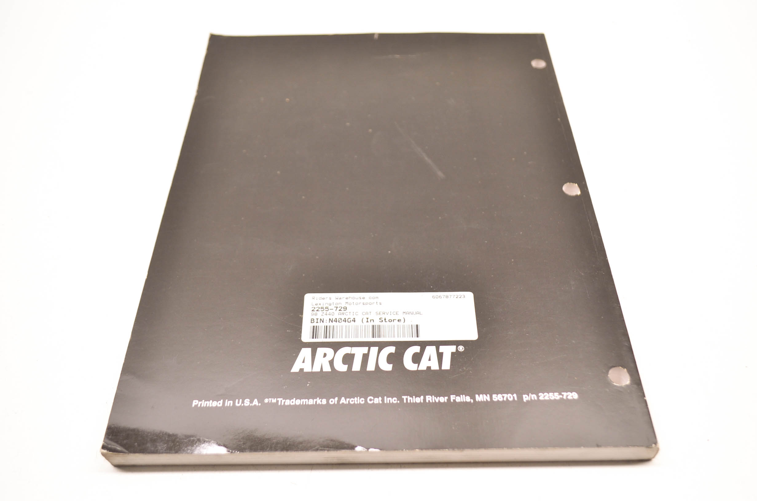 Arctic Cat Z 440 Wiring Diagram Library Z440 2255 729 98 Service Manual Qty 1 Walmartcom