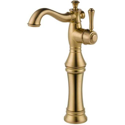Delta Cassidy Single Hole Vessel Lavatory Faucet, Available in Various Colors