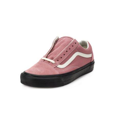 40d450b3e6 Vans - Vans Mens OG Old Skool LX Suede Canvas Ash Rose VN0A36C8QM2 Size  10.5 - Walmart.com