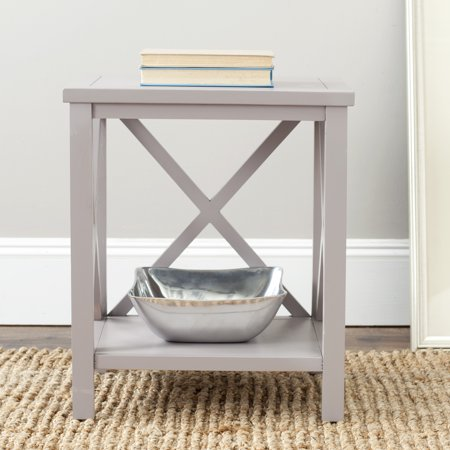 Safavieh Candence Nautical Cross Back End Table - High End Cross