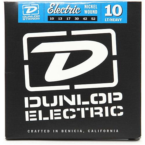 Dunlop - DEN1052 - Nickel-Plated Steel Medium Top Heavy Bottom Electric Guitar 6-String Set - .010-.052