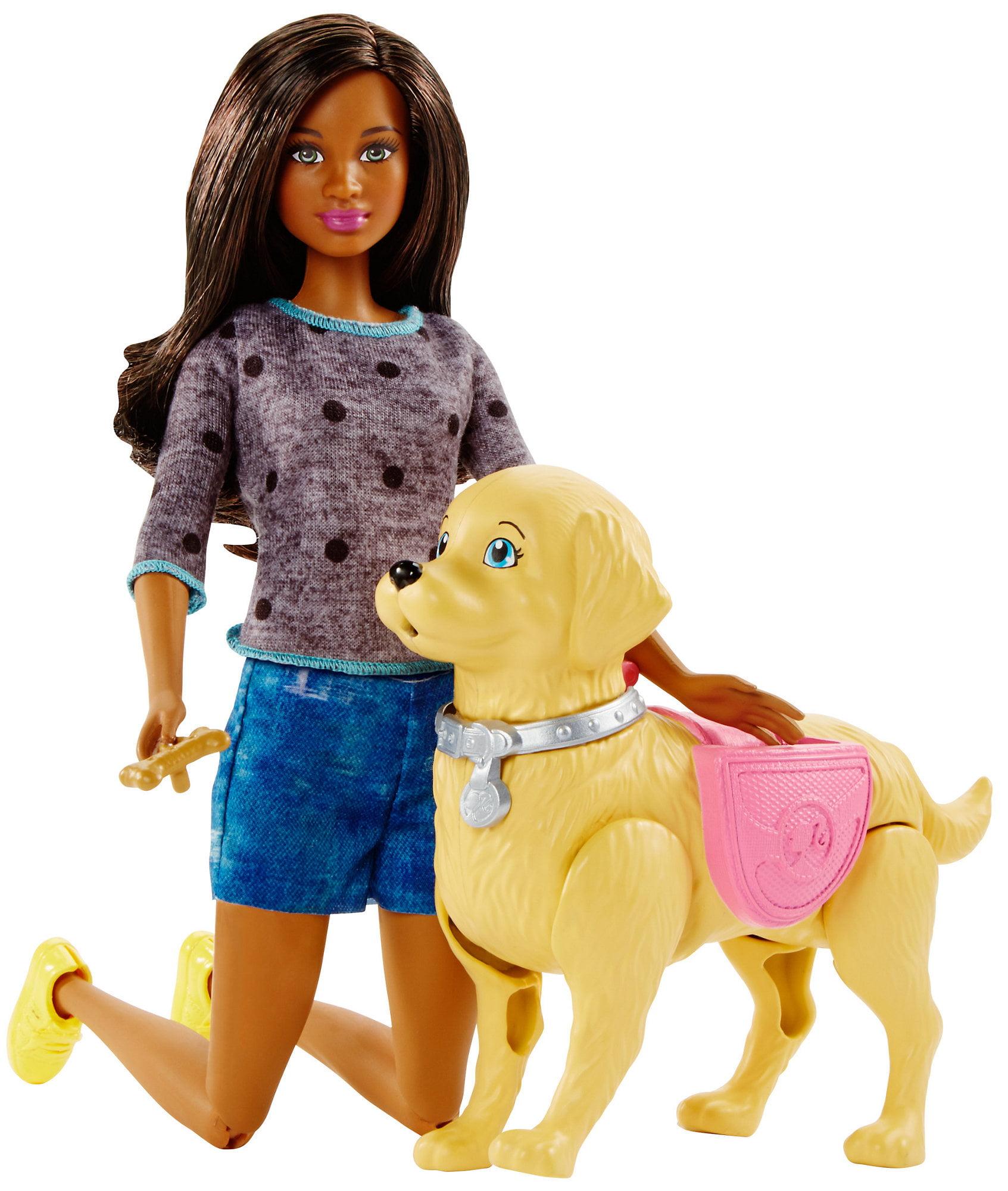 Barbie Walk & Potty Pup Nikki Doll by Mattel