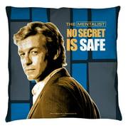 The Mentalist No Secrets Throw Pillow White 18X18