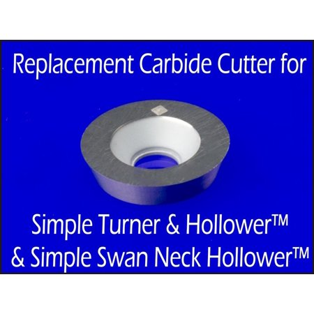 Replacement Carbide Cutter Insert for Simple Turner & Hollower (Sth) 9/16