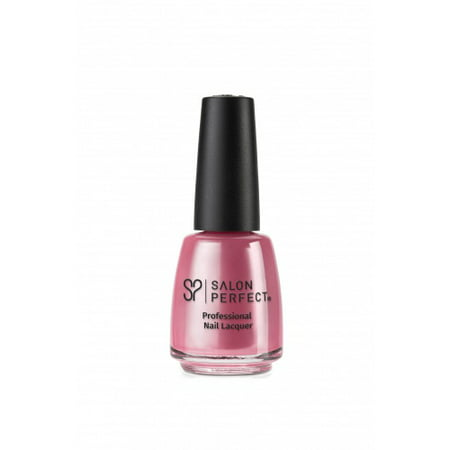 SALON PERFECT NAIL LACQUER - PEARLIE PINK