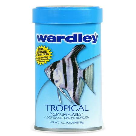 - (2 Pack) Wardley Tropical Fish Flakes, Tropical Fish Food- 1.0 oz