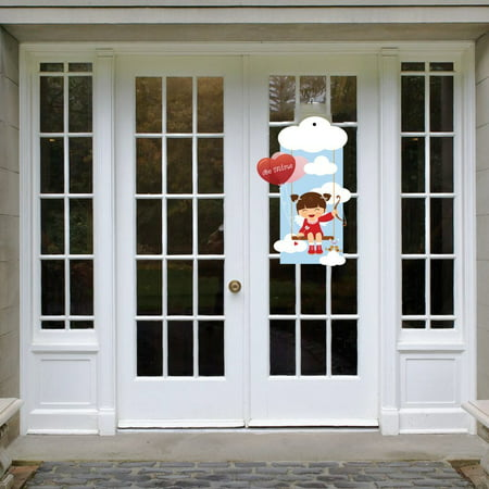 Valentine's Day Door Decoration - Cupid Be Mine - Outdoor Valentine Decorations