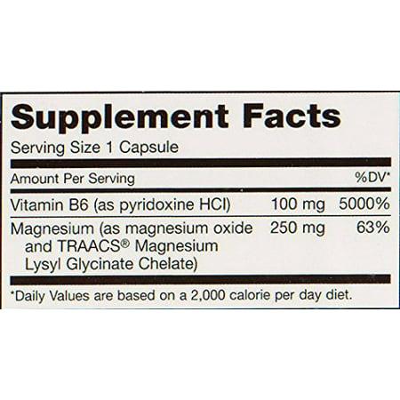 - Maxi Health MAG 6 - Magnesium - with Vitamin B6 - Kidney Stones Support - 120 Capsules - Kosher