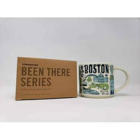 Starbucks Coffee Mug - Been There Series Across The Globe (Boston) 14 Oz (Starbucks Mugs Orlando)