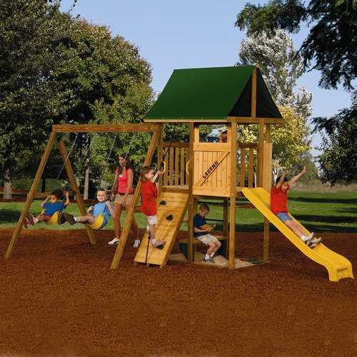 PlayStar Playsets Ready To Assemble Legend Starter Swing Set