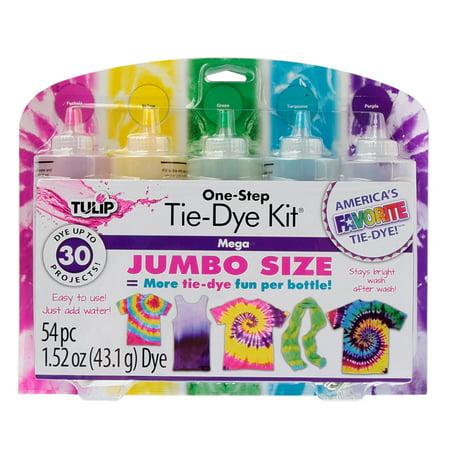 Ace Tie Dye - Tulip One-Step 5-Color Mega Tie-Dye Kit
