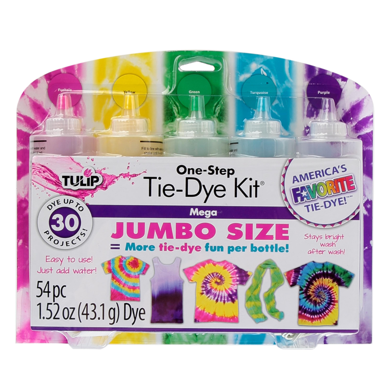 Tulip One-Step 5-Color Mega Tie-Dye Kit