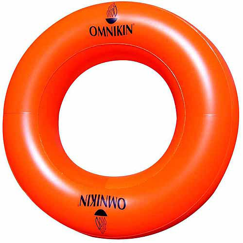 "Omnikin PVC Super Giant-Sized Tube, 79"", Round, Orange"