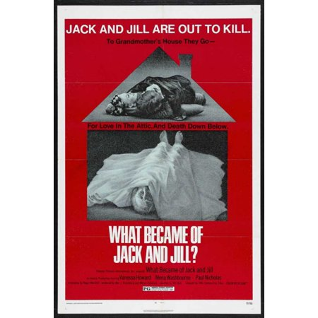 What Became of Jack and Jill Movie Poster (11 x 17) (Jack And Jill Costumes For Adults)
