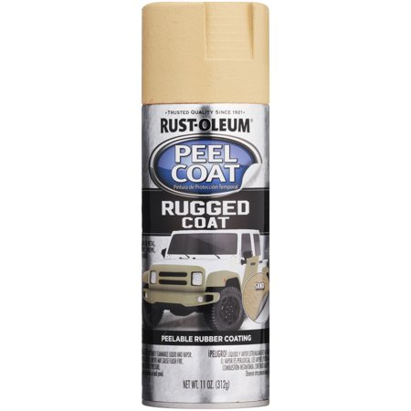 Rust-Oleum® Sand Peel Coat® Rugged Coat Peelable Rubber Coating Spray 11 oz. Can