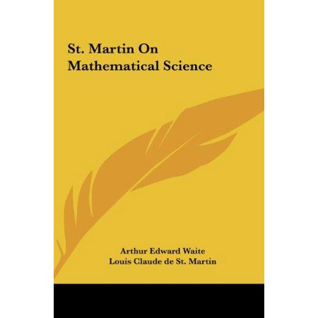 St  Martin On Mathematical Science