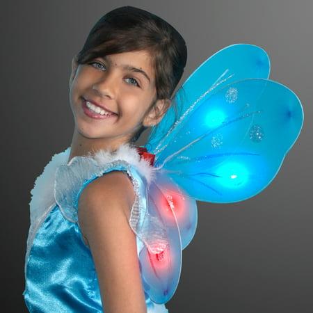 FlashingBlinkyLights Light Up LED Fairy Wings