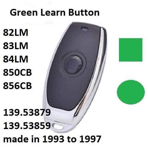 Craftsman Garage Door Opener Mini Remote Control Work With Green Learn Button Walmart Com Walmart Com