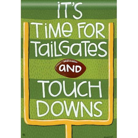 Touchdown Fall House Flag Football Tailgate Sports Banner  28