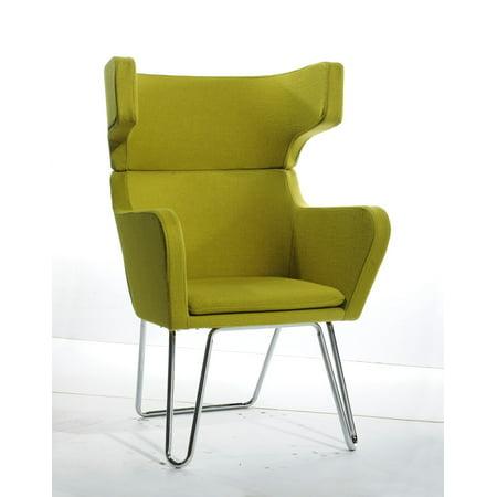Fantastic Modern Green Fabric Lounge Chair Dailytribune Chair Design For Home Dailytribuneorg