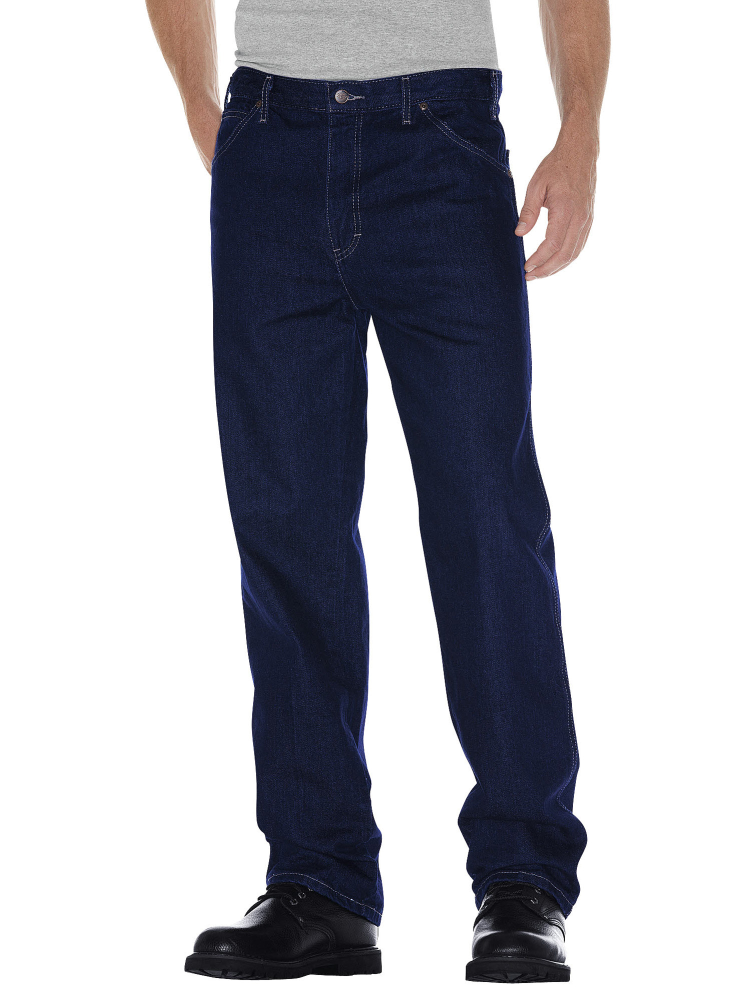 Big Men's Relaxed Straight Fit 5-Pocket Denim Jean
