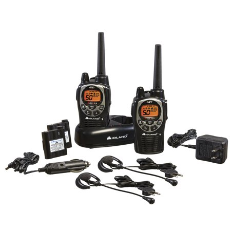 Midland Gxt1000vp4 36 Mile Waterproof Walkie Talkies