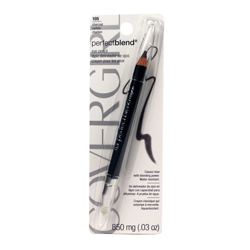 Cover Girl Perfect Blend Eye Pencil, Charcoal, Neutral Shade #105, 0.03 Oz - 2 Ea, 2 Pack