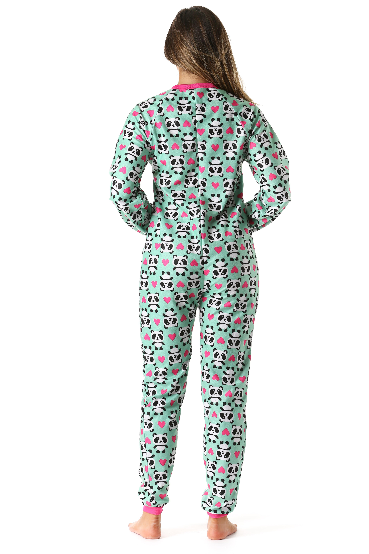 9cfa19b9f8 Just Love - just love printed flannel adult onesie   pajamas (plaid ...