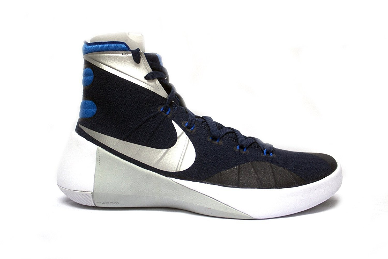 sale retailer bf633 3d3ef Nike Mens Hyperdunk 2015 Basketball Sneaker (14 D(M) US, Navy ...