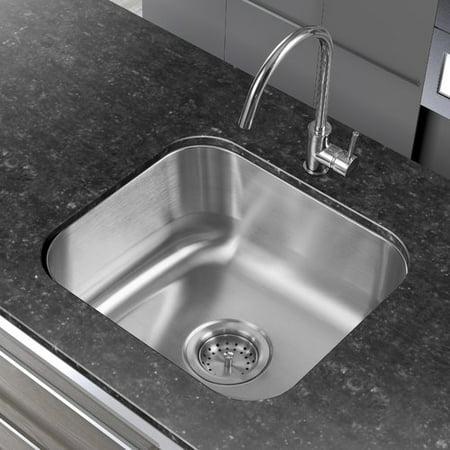 Winpro 18\'\' L x 16\'\' W Single Basin Undermount Kitchen Sink