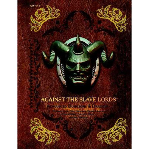 Image of Against the Slave Lords: A-Series Classic Adventure Compilation