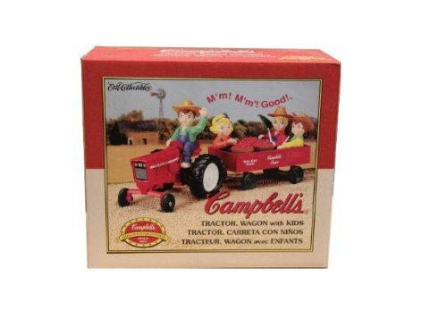 Tractor, Wagon with Kids Campbell's by ERTL
