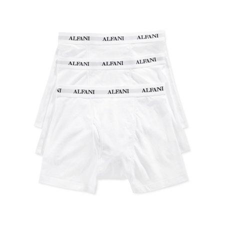 31ed408f35e8 Alfani - Alfani Mens Stretch 3 Pack Underwear Boxer Briefs - Walmart.com