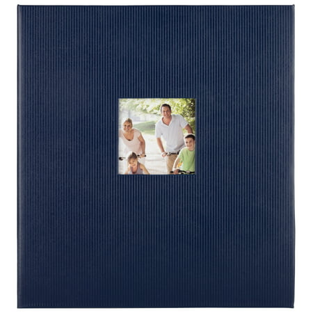 Pinnacle 8x10 Magnetic Blue Photo Album, 100 pages
