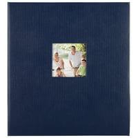 Pinnacle 8x10 Magnetic Blue Photo Album, 100 pages
