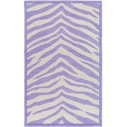 Surya LPF8002-7696 Purple Leap Frog 8' X 10' Rectangle Synthetic Hand Tufted Animal Print