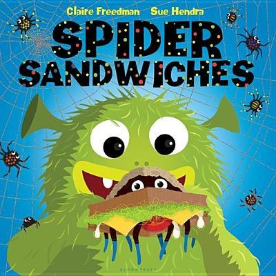 Spider Halloween Art Projects (Spider Sandwiches - eBook)
