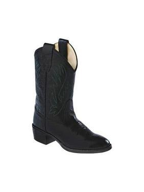Children's Old West Round Toe Western Cowboy Boot - Child