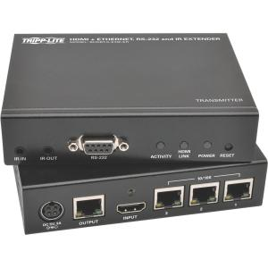 Tripp Lite HDBaseT HDMI over Cat5e/6/6a Extender Kit w/ Ethernet, Serial, IR