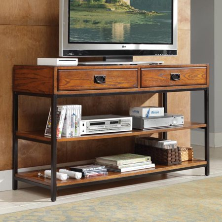 Home Styles Modern Craftsman Distressed Oak TV