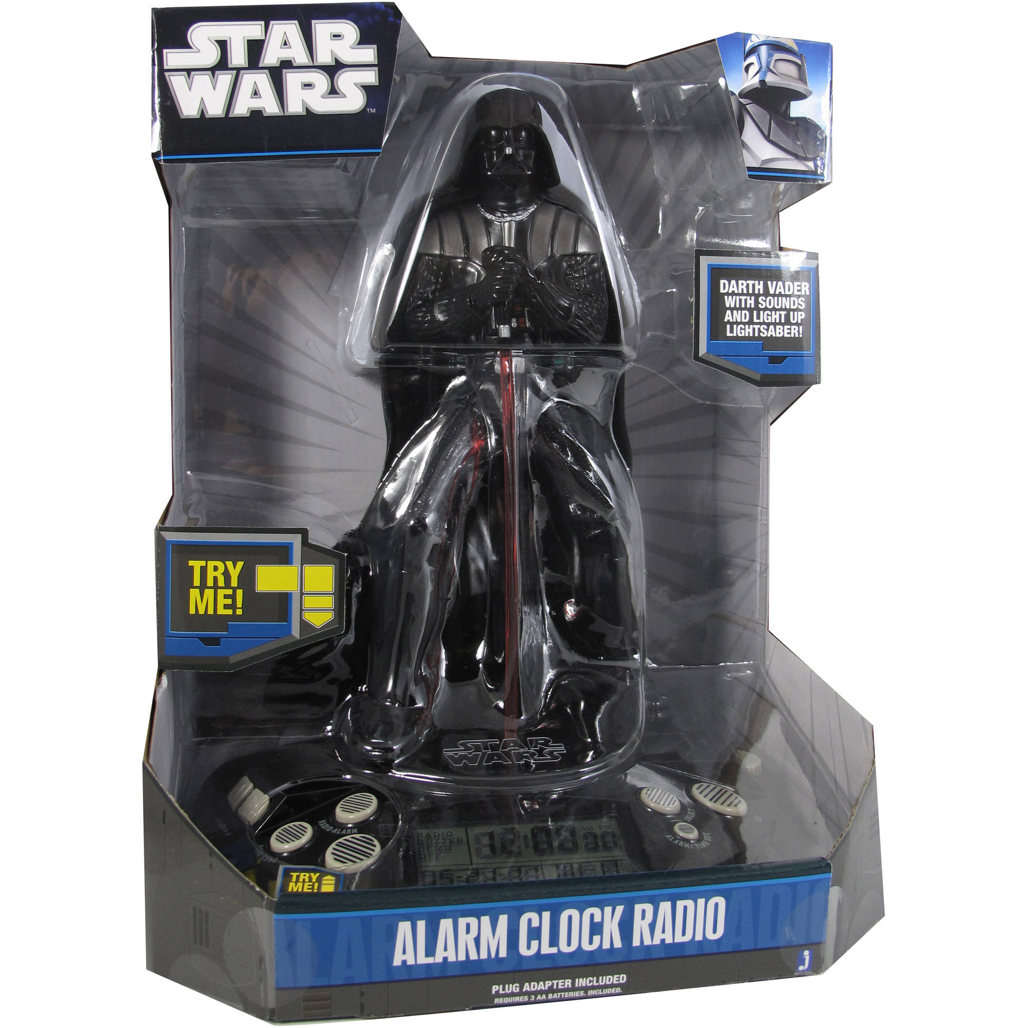 Star Wars Alarm Clock, Darth Vader