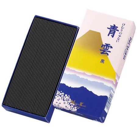 SEIUN Chrysanthemum Joss Sticks (110g total, 220 sticks) - 1 box, Incense with an Oriental note and elegant floral fragrance By Nippon
