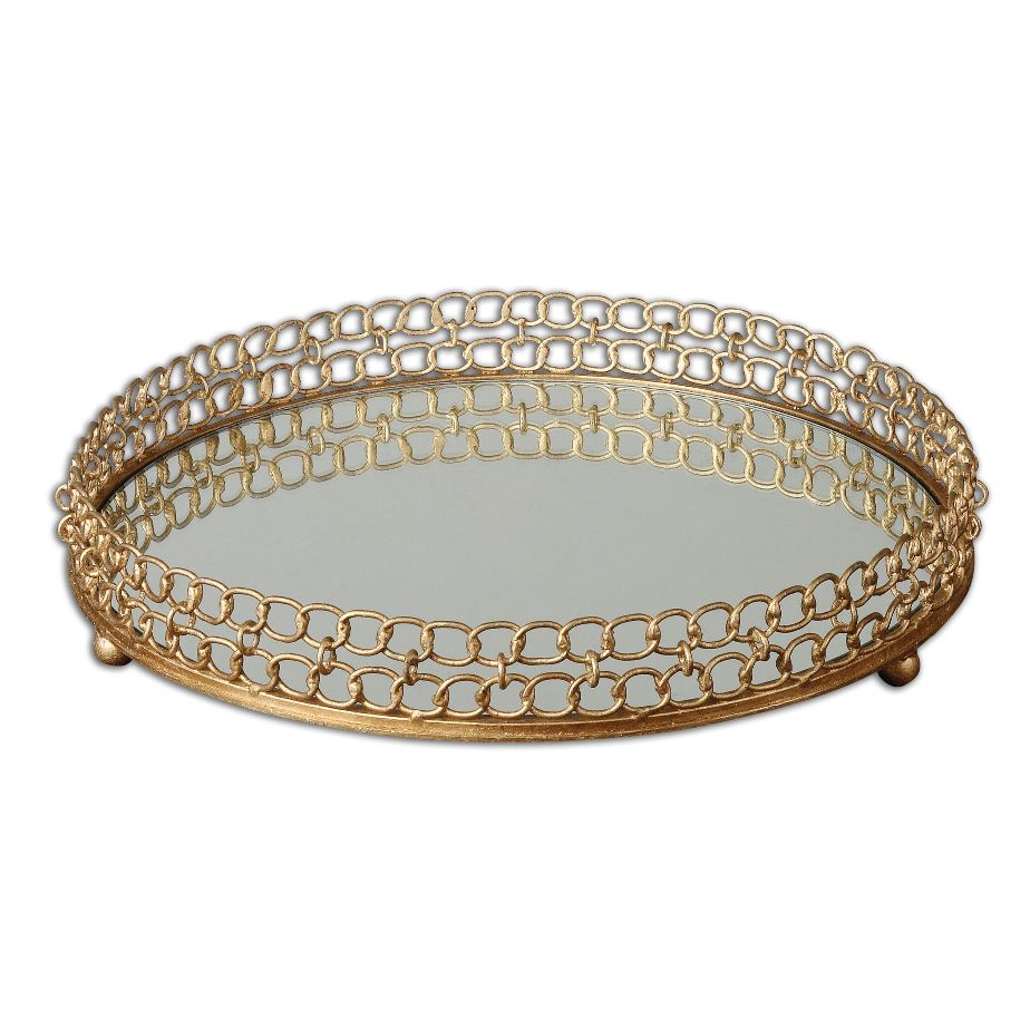 Uttermost Dipali Mirrored Tray 19807