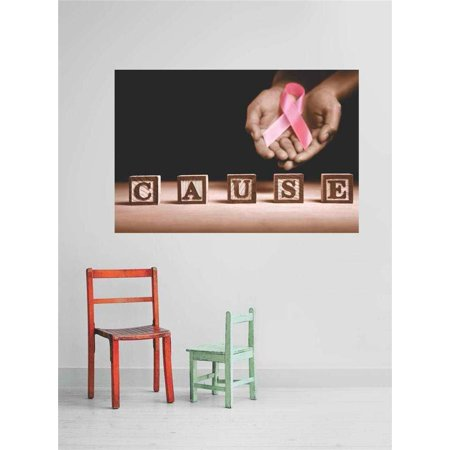 Custom Wall Decal s & Stickers : Beautiful Breast Cancer Cause Banner Breast Cancer Awareness Sign 10x20 - Breast Cancer Awareness Banner