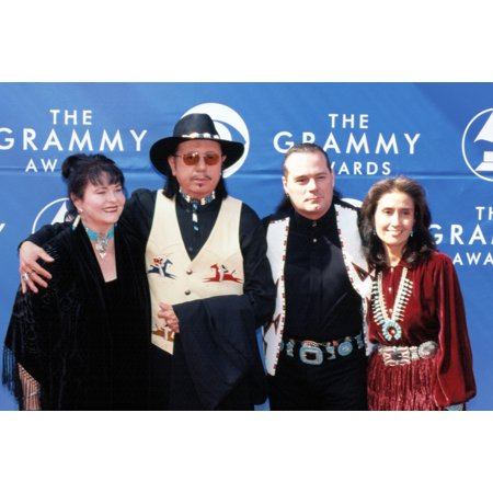 Tom Bee And Douglas Spotted Eagle At 2002 Grammy Awards La Ca 2272002 By Robert Hepler Celebrity