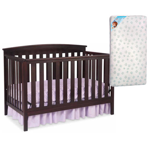 Delta Gateway 4-in-1 Crib and Mattress Value Bundle